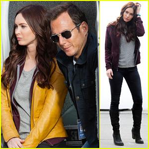 Megan Fox: 'Teenage Mutant Ninja Turtles' Set with Will Arnett!
