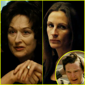 Meryl Streep & Julia Roberts: 'August: Osage County' Trailer!