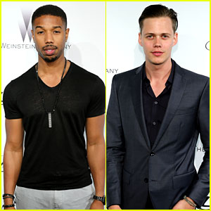 Michael B. Jordan & Bill Skarsgard: Cannes Parties & Lounges!