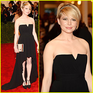 Michelle Williams - Met Ball 2013 Red Carpet