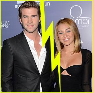 Miley Cyrus & Liam Hemsworth Split?