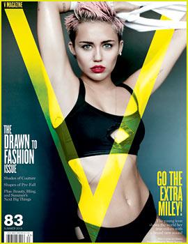 Miley Cyrus Talks Liam Hemsworth Relationship with 'V' Magazine