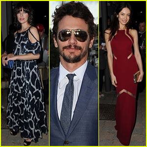 Milla Jovovich & James Franco: Vanity Fair & Chanel Cannes Dinner!