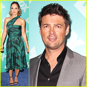 Minka Kelly & Karl Urban: Fox Upfront Presentation for 'Almost Human'!