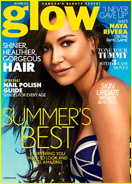Naya Rivera: 'Glow' Summer 2013 Cover Girl