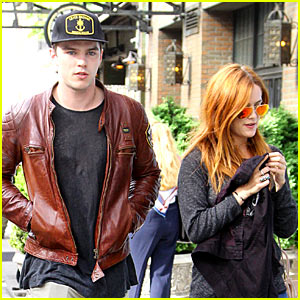 Nicholas Hoult & Riley Keough Stroll in Soho!