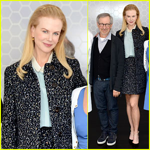 Nicole Kidman: Cannes Grand Jury Lunch with Steven Spielberg!