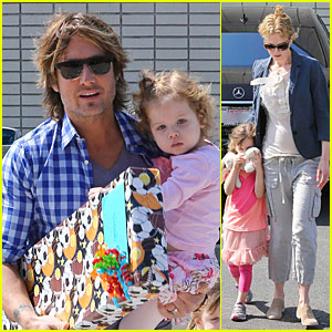 Nicole Kidman & Keith Urban: Birthday Party with the Girls!