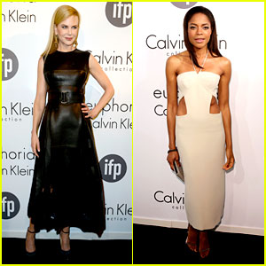 Nicole Kidman & Naomie Harris: IFP/Calvin Klein Cannes Party!