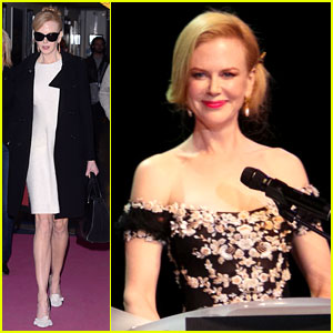 Nicole Kidman Strolls Cannes After Attending amfAR Gala