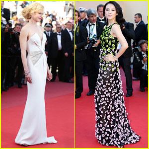 Nicole Kidman & Ziyi Zhang: 'Zulu' Cannes Premiere