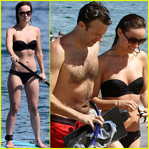 Olivia Wilde: Bikini Vacation with Shirtless Jason Sudeikis Continues!