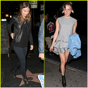 Olivia Wilde & Chloe Sevigny: Stones Fest LA!