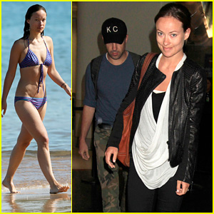 Olivia Wilde & Jason Sudeikis: From Hawaii to LAX!