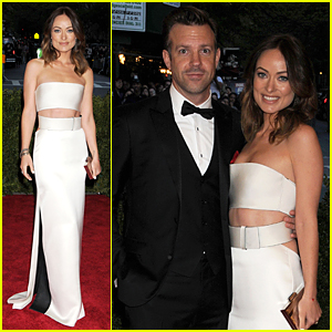 Olivia Wilde & Jason Sudeikis - Met Ball 2013 Red Carpet