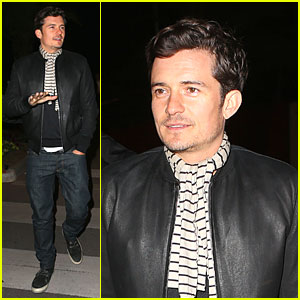 Orlando Bloom: Martinez Beach Dinner at Cannes!