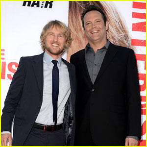 Owen Wilson & Vince Vaughn: 'The Internship' Premiere!