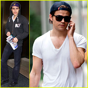 Paul Wesley Thanks Fans for Teen Choice Nomination