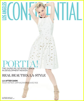 Portia de Rossi Covers 'Los Angeles Confidential' May/June 2013