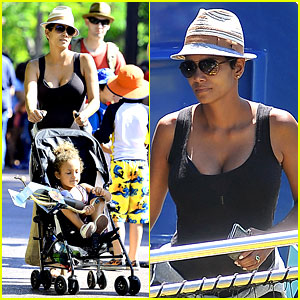 pregnant-halle-berry-disneyland-weekend-trip-with-nahla.jpg