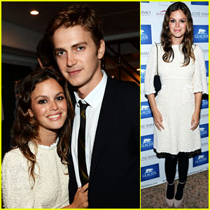 Rachel Bilson & Hayden Christensen: Glacier Films Launch Party
