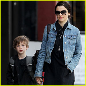 Rachel Weisz & Henry Hold Hands After Memorial Weekend