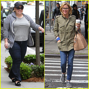Rebel Wilson & Julie Bowen: ABC Funny Ladies Hit NYC!