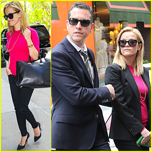Reese Witherspoon & Jim Toth: Big Apple Shopping Couple!