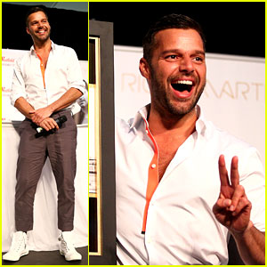Ricky Martin Meets Fans at Greatest Hits Event in Australia