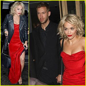 Rita Ora & Calvin Harris: Nobu Dinner Date!