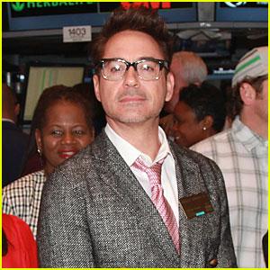 Robert Downey, Jr.: New York Stock Exchange Bell Ringer!