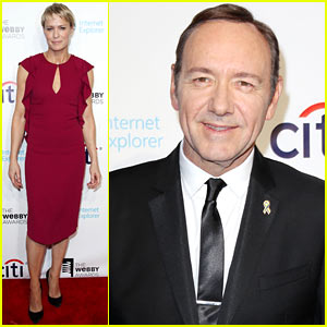 Robin Wright & Kevin Spacey: Webby Awards 2013!