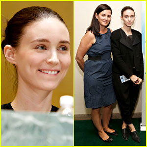 Rooney Mara: Social Innovation Summit with Mom Kathleen!