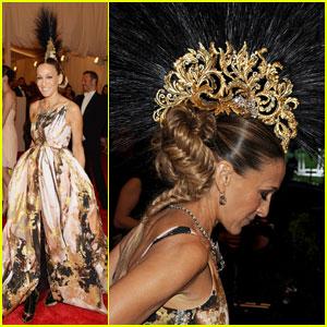 Sarah Jessica Parker - Met Ball 2013 Red Carpet