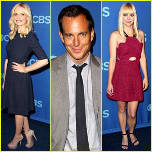 Sarah Michelle Gellar & Anna Faris: CBS Upfront 2013!