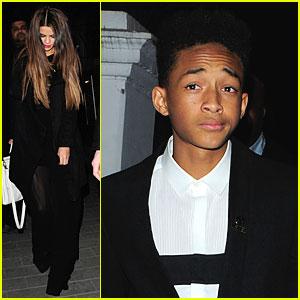 Selena Gomez & Jaden Smith: Hakkasan Dinner with Will Smith!