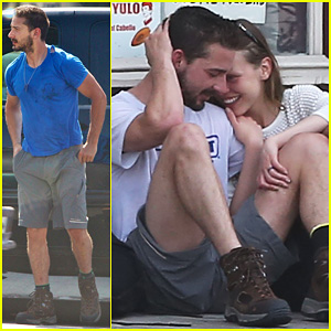 Shia LaBeouf & Mia Goth: Martial Arts Class Couple