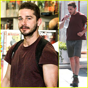 Shia LaBeouf: 'Stale N Mate' Book Signing!