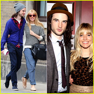 Sienna Miller & Tom Sturridge: Outer Critics Circle Awards!