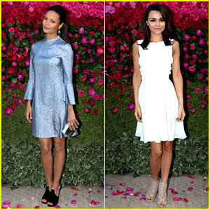 Thandie Newton & Samantha Barks: Jimmy Choo Dinner!
