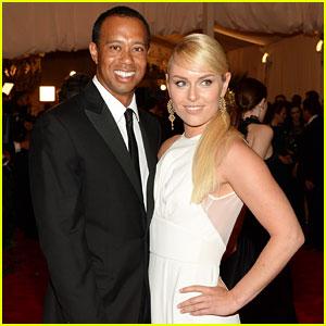 Tiger Woods & Lindsey Vonn - Met Ball 2013 Red Carpet