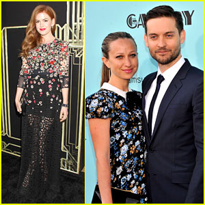 Tobey Maguire & Isla Fisher: 'Great Gatsby' NYC Premiere!