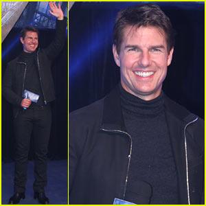 Tom Cruise: 'Oblivion' Beijing Premiere!