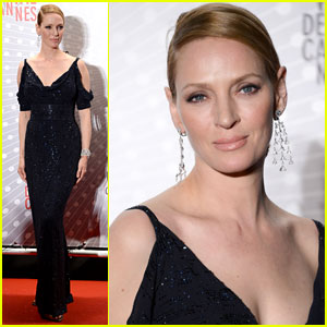 Uma Thurman: Palme D'Or Winners Dinner at Cannes