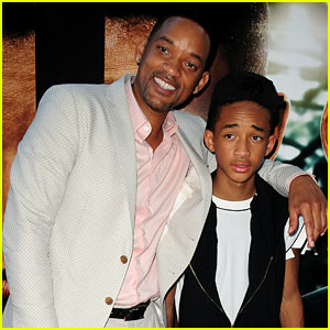 Will & Jaden Smith: 'After Earth' Day Celebrations!