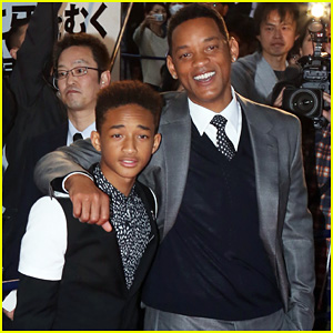 Will & Jaden Smith: 'After Earth' Japan Premiere!