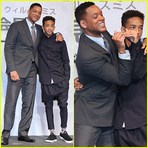 Will & Jaden Smith: 'After Earth' Tokyo Press Conference!
