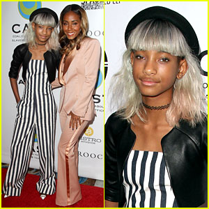 Willow Smith: White Hair on Red Carpet with Mom Jada!