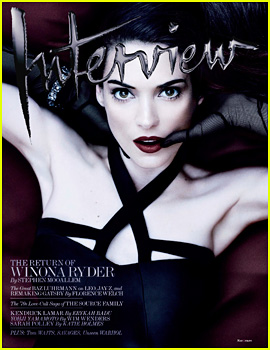 Winona Ryder Covers 'Interview' Magazine May 2013