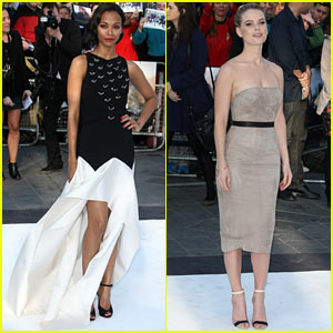 Zoe Saldana & Alice Eve: 'Star Trek Into Darkness' UK Premiere!